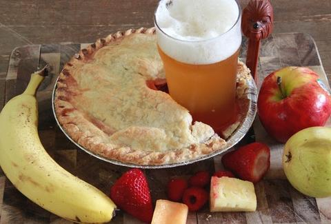 Beer in pie!
