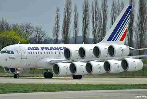Hilarious Air France plane