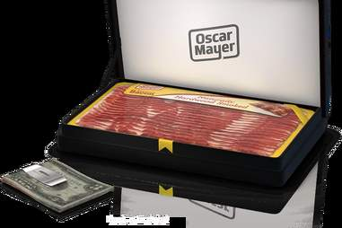 Oscar Meyer bacon money clip
