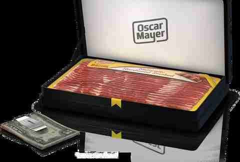 Oscar Meyer bacon money clip