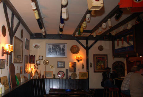 inside of the Crown & Anchor Pub