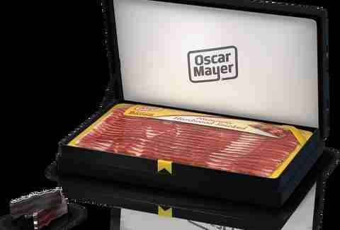 Oscar Meyer Matador bacon cufflinks