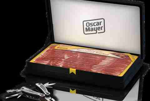 Oscar Meyer bacon Woodsman multi-tool
