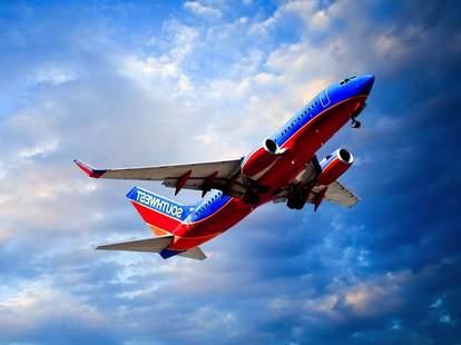 southwest flight takeoff