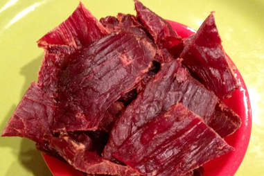 Brown Sugar Lemongrass Kobe Red Jerky