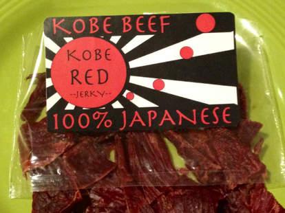 Smoked Honey Spiced Curry Kobe Red Beef Jerky
