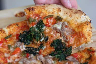 The BRU pizza at BRU in Boulder