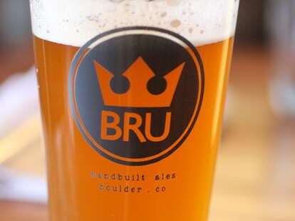 beer at BRU