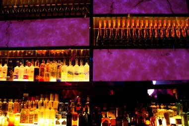 The bar at the Golden Nugget's Haven nightclub in Atlantic City