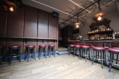 Upstairs bar at Redford
