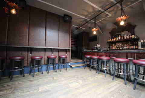 Upstairs bar at Redford