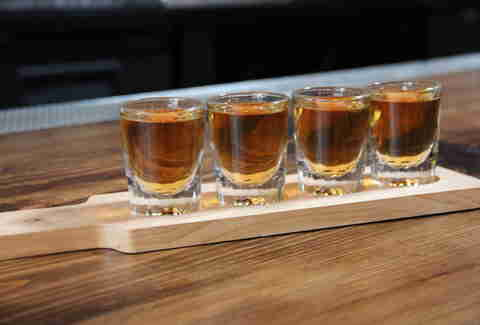 Whiskey plank at Redford