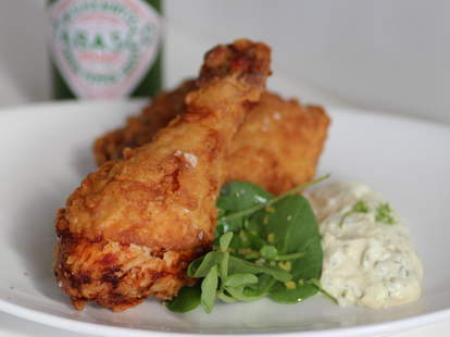 Fried chicken at Mason Pacific
