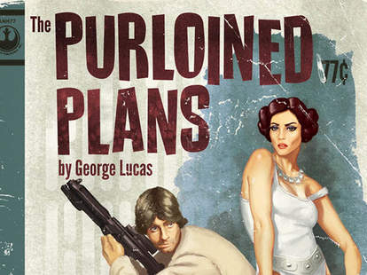 Star Wars pulp novel