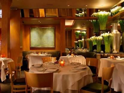 Interior shot of Gary Danko restaurant