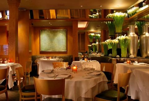 Interior shot of Gary Danko restaurant