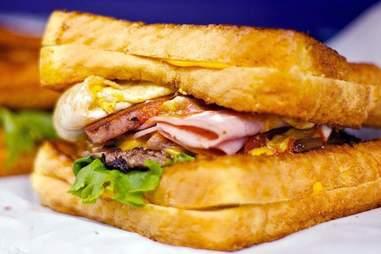 SPAM Redonkadonk Burger