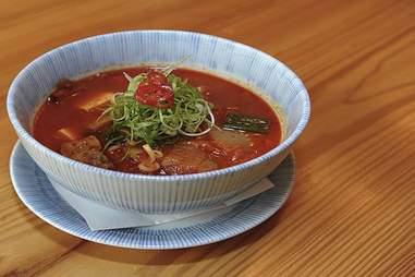 SPAM Kimchi Soup