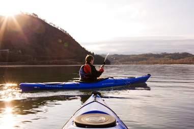 Blackberry Farm kayak