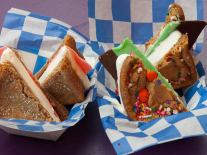 Ice cream sandwiches from Smush