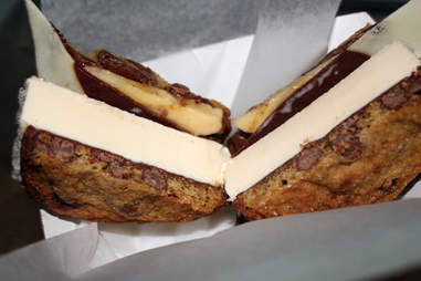Ice cream sandwiche from Smush