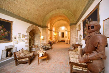castle caretaker apartment -- Umbria