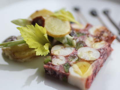 Octopus terrine from Terzo in Southwest Minneapolis