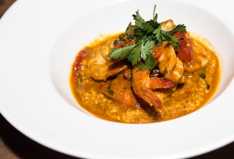 Searsucker shrimp and grits