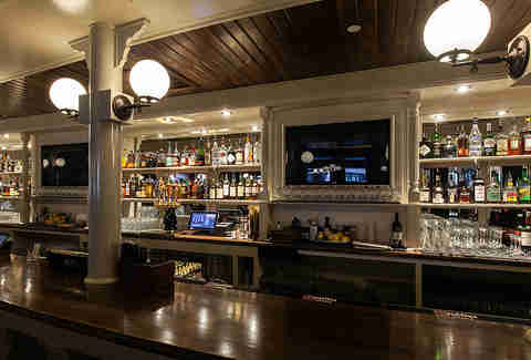 Bar at Carrie Nation Cocktail Club