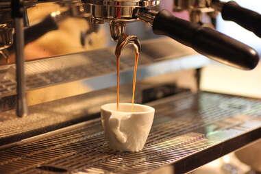 espresso at Little Owl