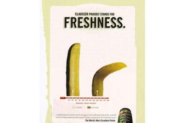 Claussen Pickle Ad