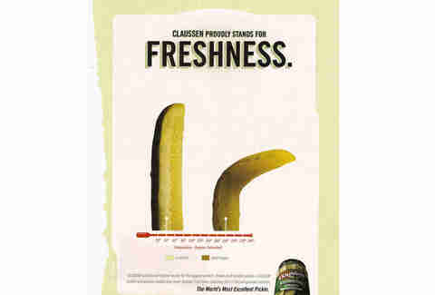 Claussen Pickle Ad