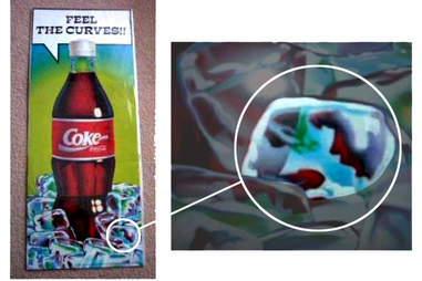 Coca Cola Ice Cube