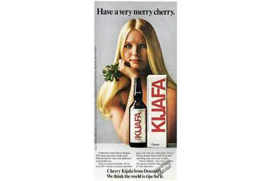 Kafja cherry ad.