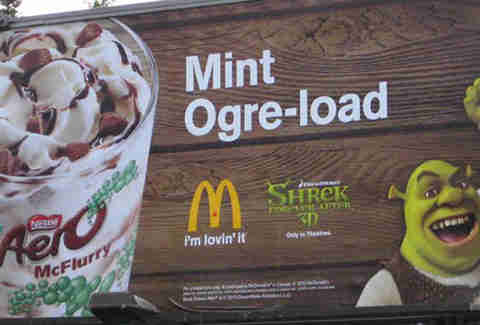 McDonald's Mint Ogre-Load