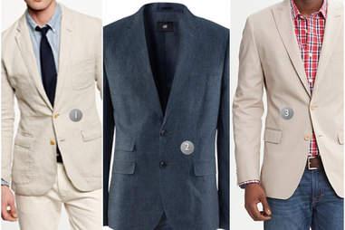 Linen blazers