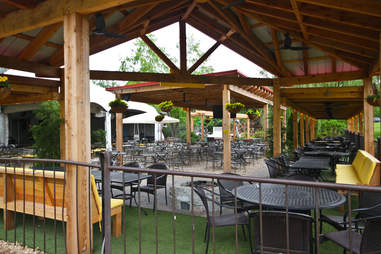 Park Tavern outdoor seating