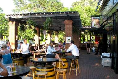 Hand in Hand outdoor seating