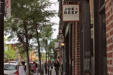 Montreal, restaurant, Joe Beef