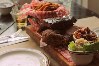 Montreal, Le Boucan, barbecue, meat