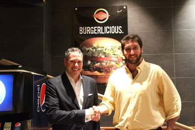 Fatburger CEO and Andrew Zimmer