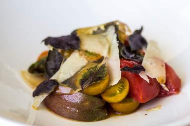 Mettle four tomato salad