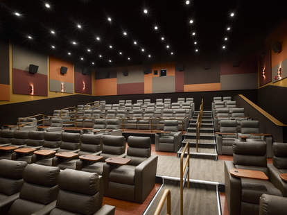 Inside a theater at Chestnut Hill Showcase SuperLux