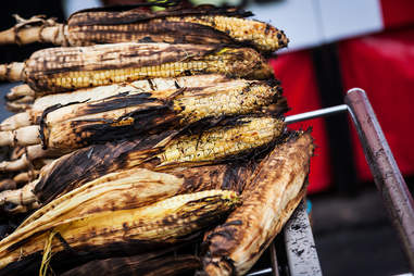 Roasted corn at the San Diego County Fair in Del Mar.