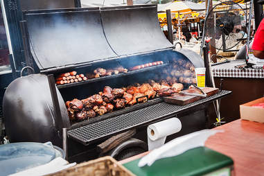 Pit BBQ at the San Diego County Fair in Del Mar.