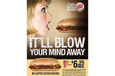 Burger King's Super Seven Incher