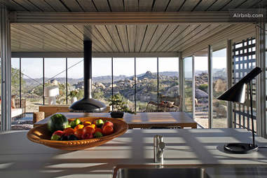 off-grid house kitchen