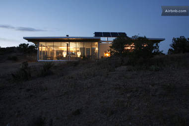 off-grid house exterior