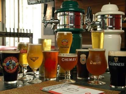 Beers at TAP Gastropub