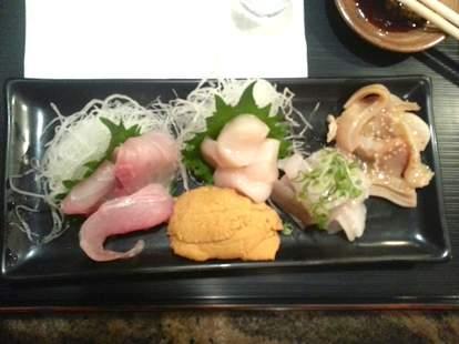 Sushi at Sushi Ike LA